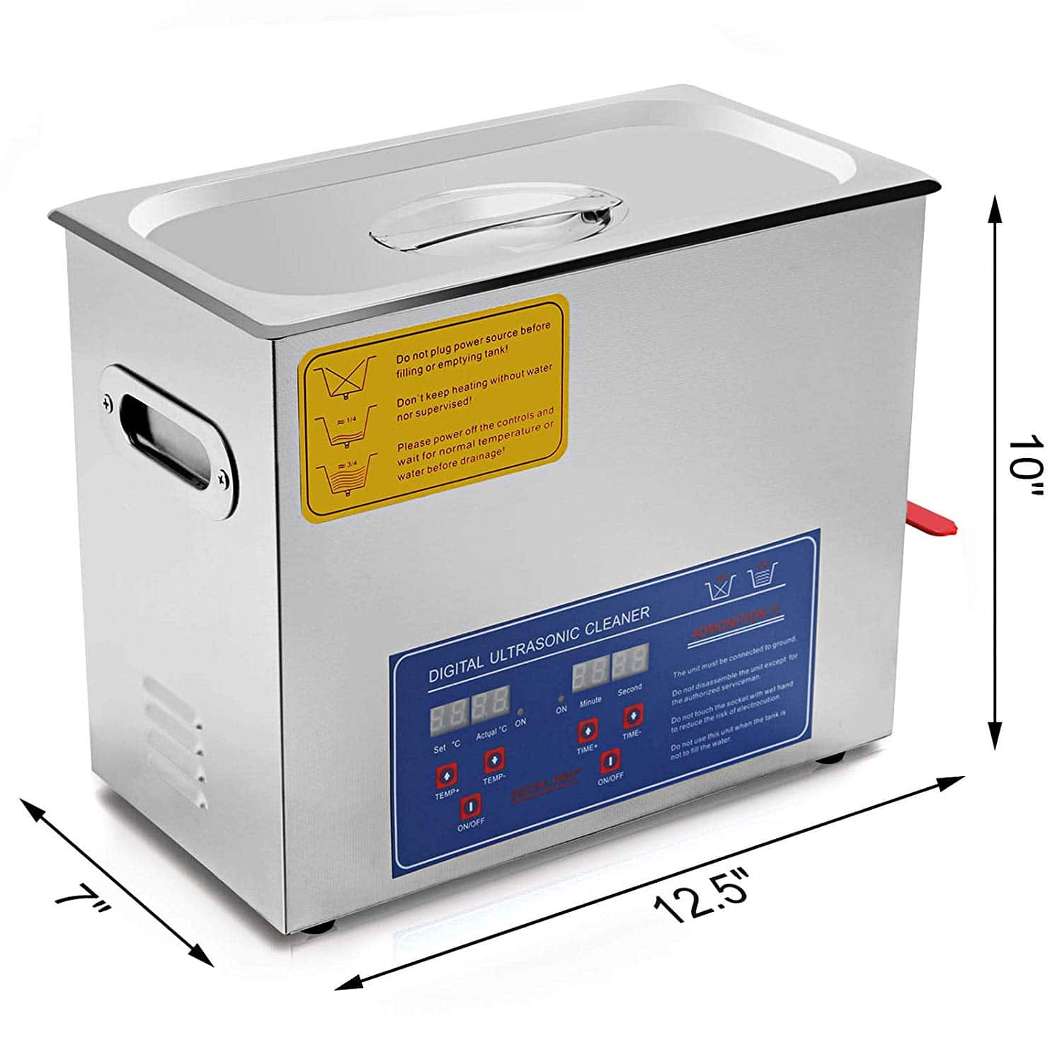 VEVOR Commercial Ultrasonic Cleaner 6L