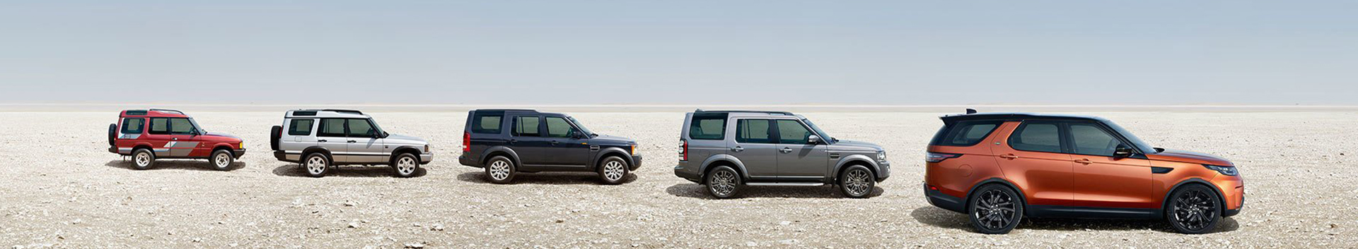 Land Rover Discovery through the years
