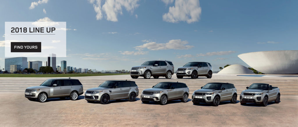 2018 Land Rover Line Up