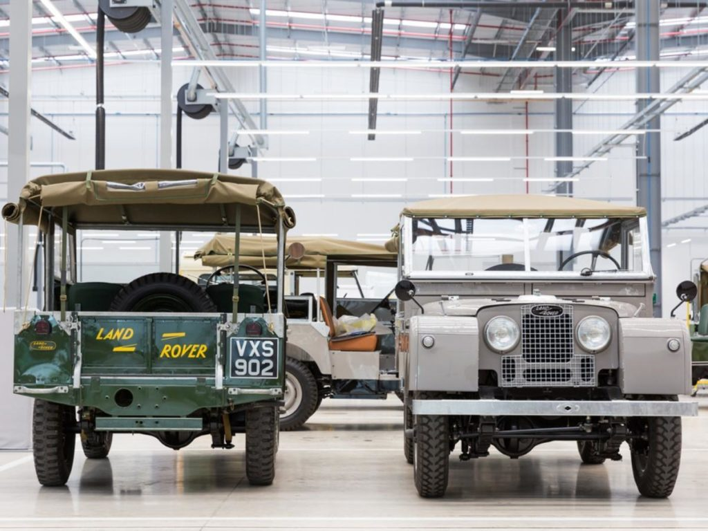 Classic Jaguar and Land Rovers to star at the 2018 Paris Motor Show
