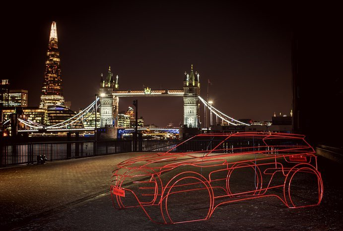 DEBUT OF THE NEW RANGE ROVER EVOQUE