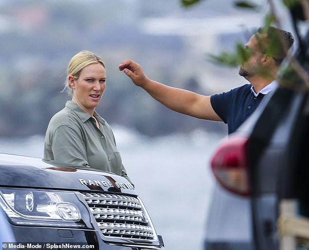 Zara Tindall models in Land Rover photo shoot in Queensland