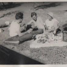 Christmas Luncheon Morocco 1955
