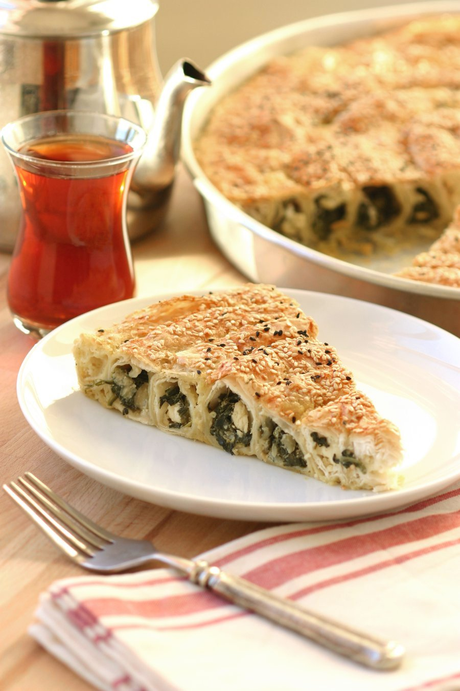 Vegan spinach and cheese brek lands flavors an egg and dairy free version of a turkish cuisine favorite this vegan forumfinder Images