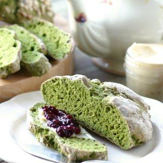 Green Irish Soda Bread