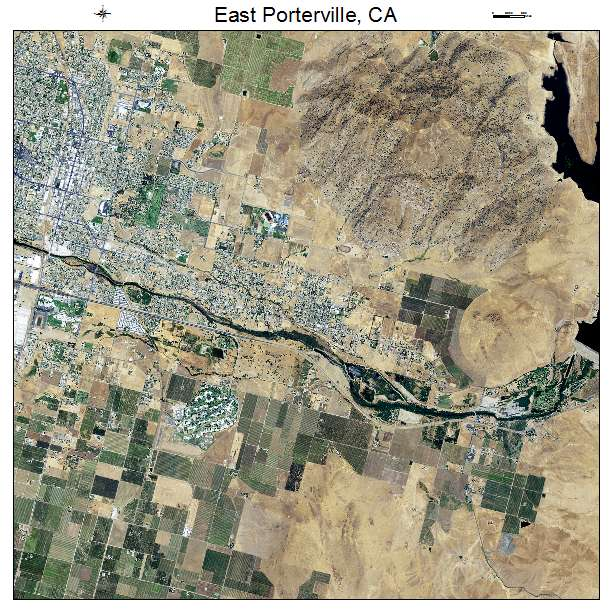 Map Porterville Ca Streets