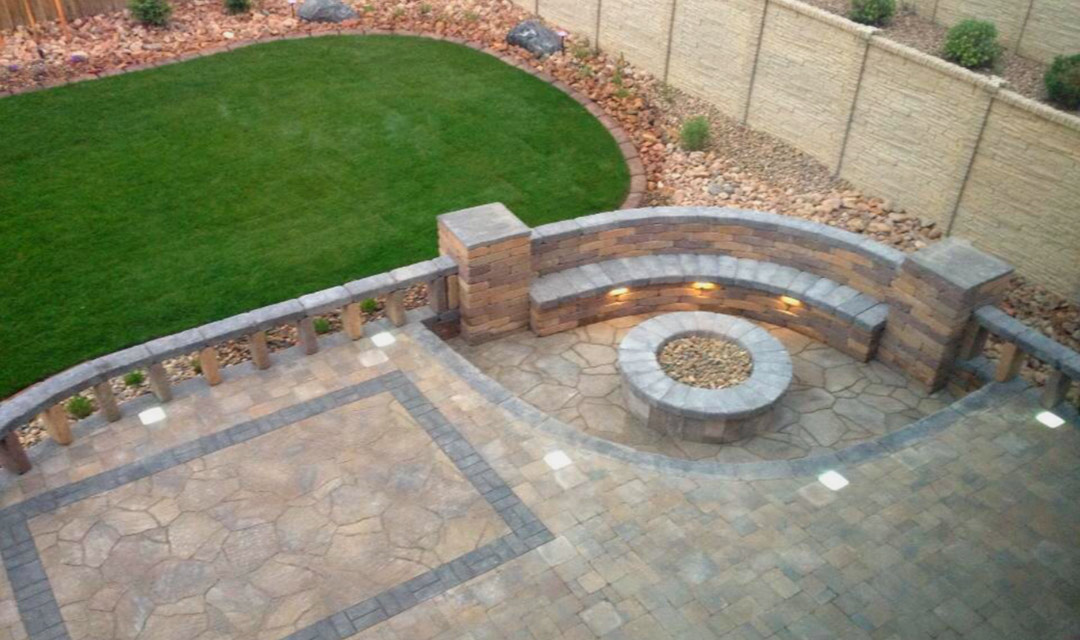 pavers patio walkway stones