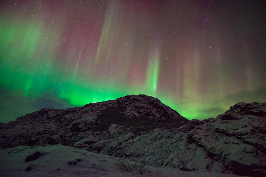 Northern Lights Iceland Tonight