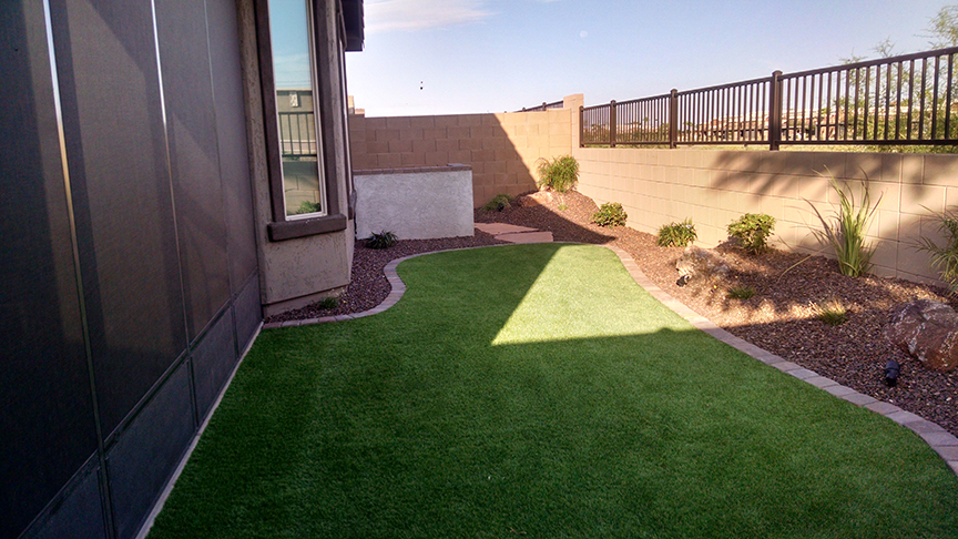 Small Backyard Landscaping - Az Living Landscape & Design on Small Backyard Landscaping  id=57327