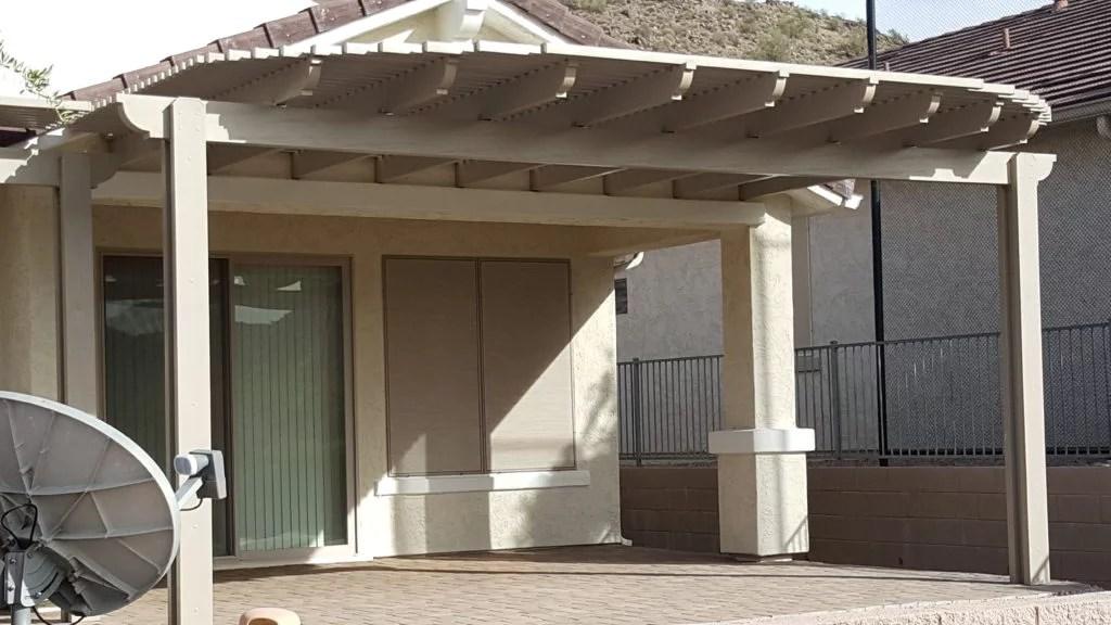 Pergola Patio Cover Alumawood Arizona Living Landscape