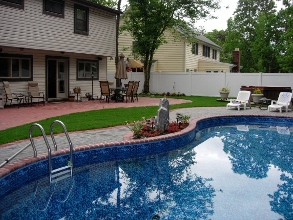 Here you go: Home landscaping designs long island weather on Pool Patio Design id=98601