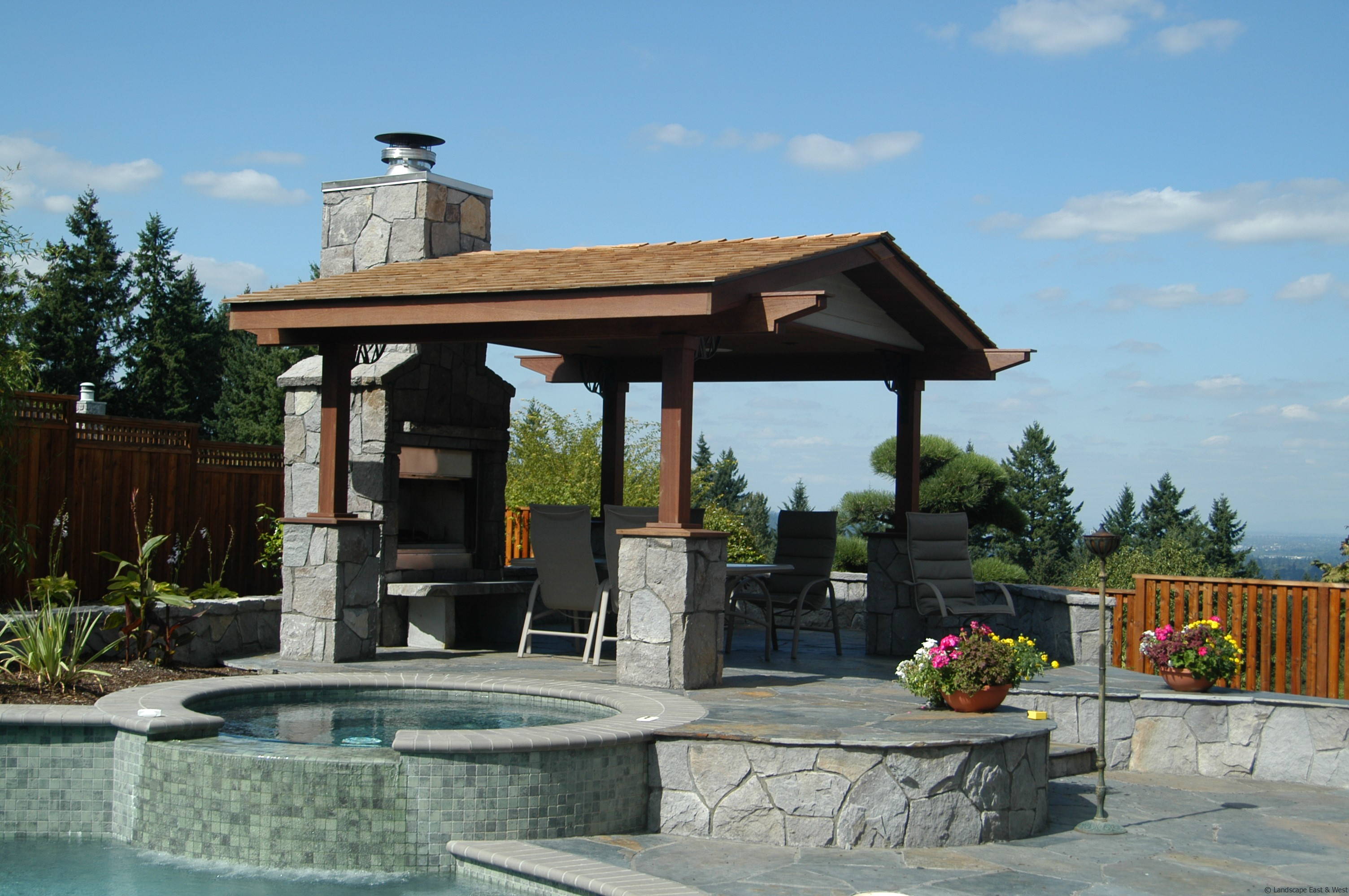 Choosing the Right Covered Structure or Pergola Design by ... on Covered Pergola Ideas  id=42166