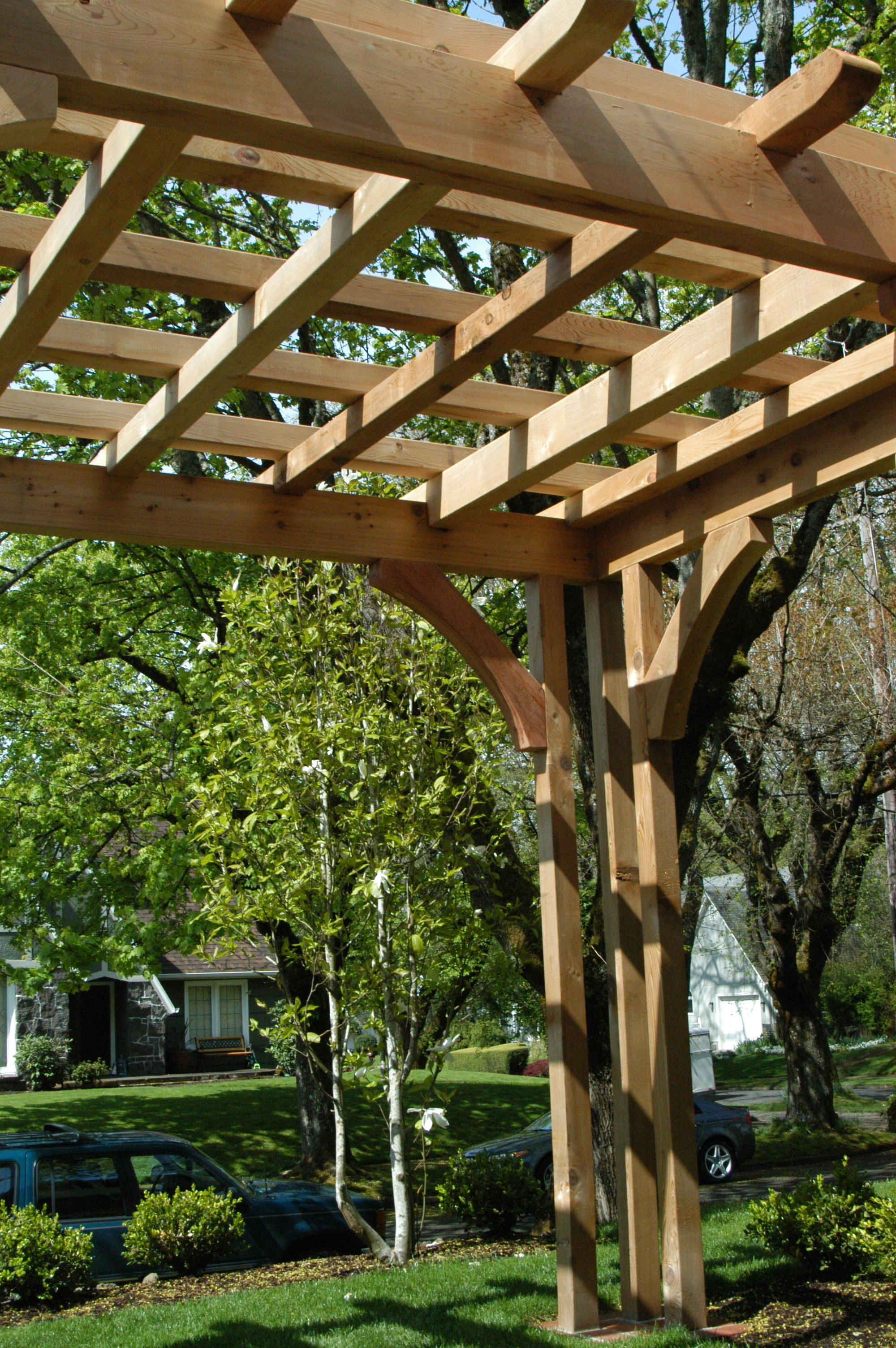 Pergola Design for Portland Landscaping by Bjorn Nordquist ... on Covered Pergola Ideas  id=98572