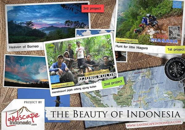 beauty of Indonesia project
