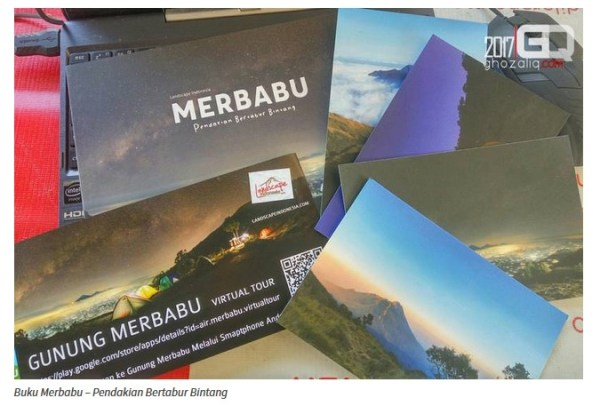 buku merbabu - review ghozali