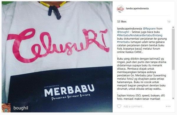 review buku merbabu @boughil