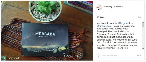 review buku merbabu @rheevarinda