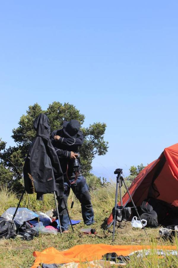 behind the scene buku merbabu