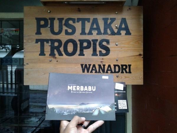 buku merbabu di pustaka tropis wanadri