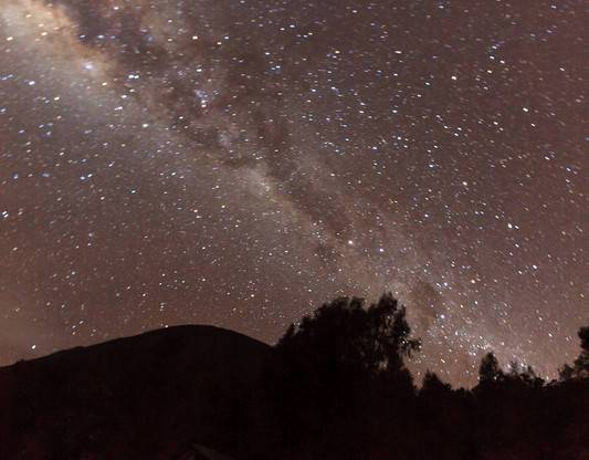 semeru milkyway 2 - Night shot @ Kalimati