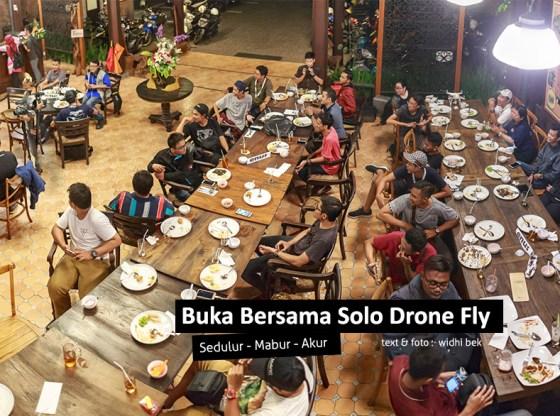 buka bersama Solo Drone Fly