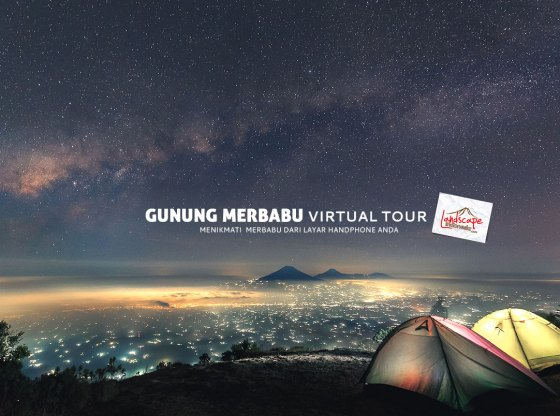 gunung merbabu virtual tour - Gunung Merbabu Virtual Tour