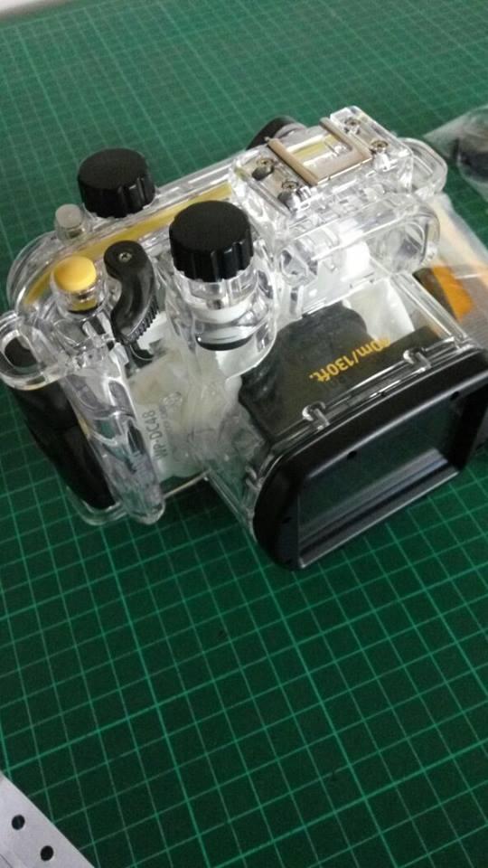 canon G15 + underwater