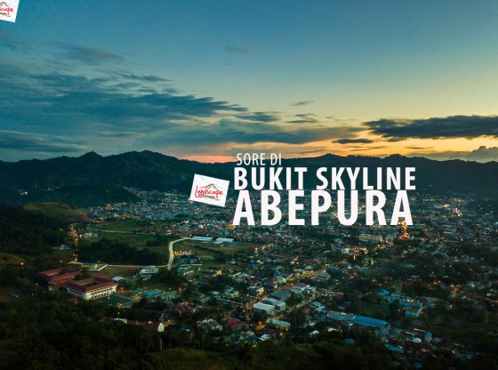 Sepenggal sore di Bukit Skyline