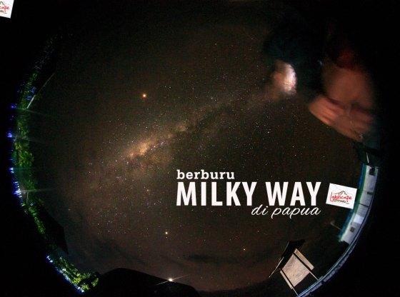 milky way papua
