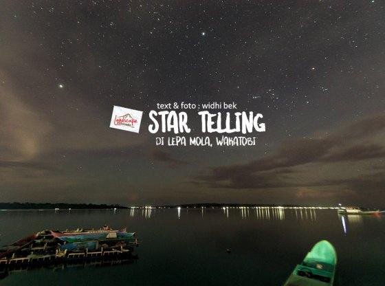 startelling mola 0 1 - Star Telling di Lepa Mola, Wakatobi