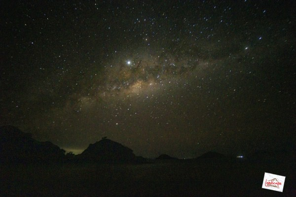milky way membentang