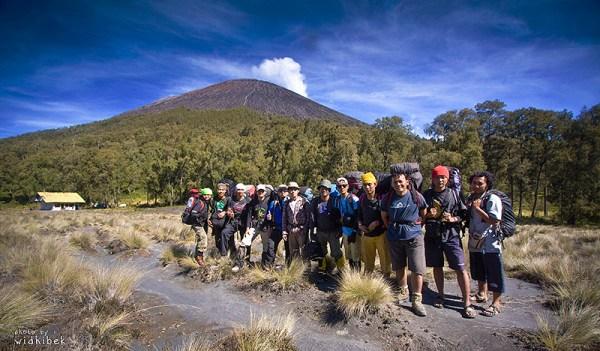 semeru, dengan kamera berkeliling Indonesia