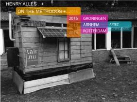 TAIR residence, nu in Arnhem als verblijfplaats voor student Henry J Alles