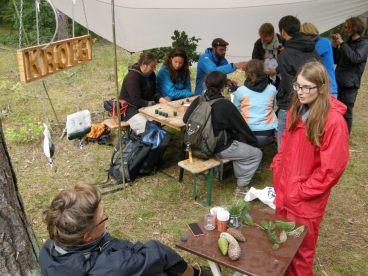 Tijdens het Into the great white open festival 2015 bracht de Satellietgroep i.s.m. Staatsbosbeheer en het festival zelf experts en kunstenaars samen voor 3 veldexpedities.
