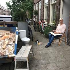 Utrecht, bij Monica Commandeur