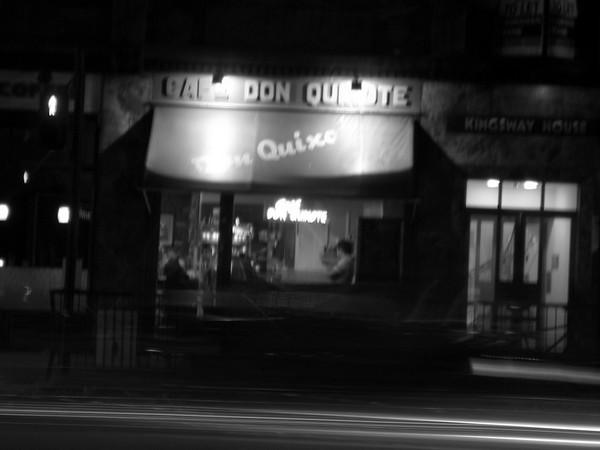 Cafe Don Quixote, London