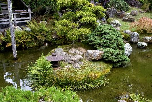 Decorative Rocks Pond