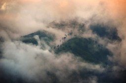 Misty haze