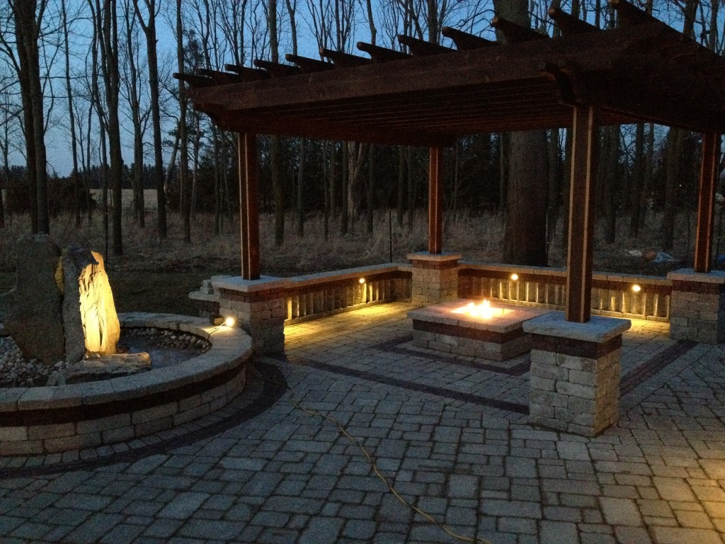 Outdoor Living « Rural Roots Landscape and Design Chatham ... on Living Room Fire Pit id=53178