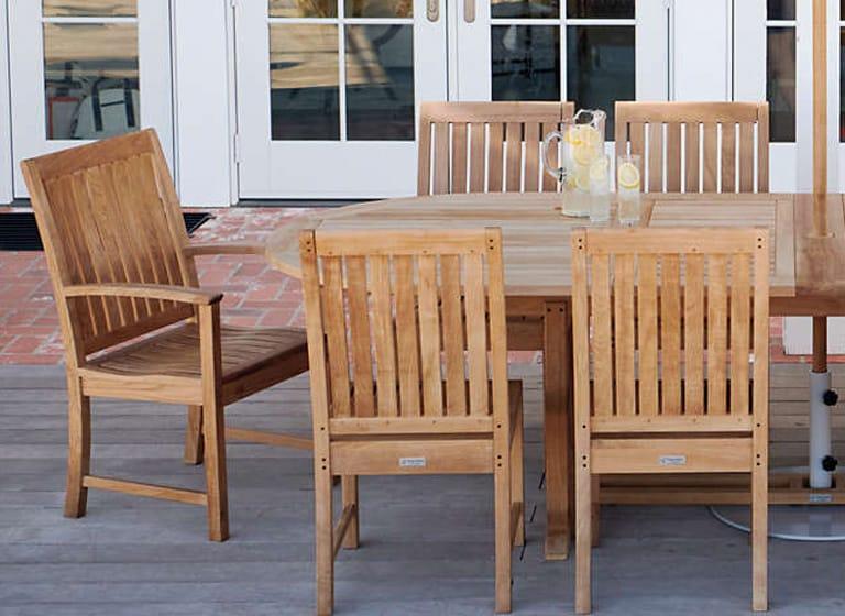 what is teak outdoor furniture lands