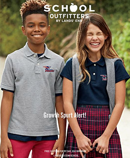 Lands End School Outfitters cover