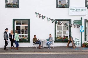 The Open Book - en boghandel i landsbyen Wigtown i Skotland
