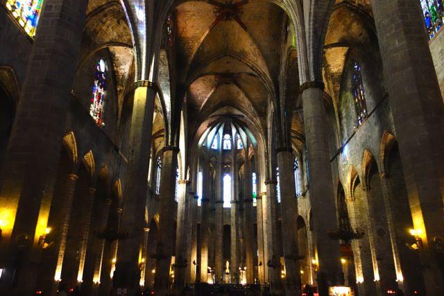 Esglesia de Santa Maria del Mar is a Catalan Gothic church