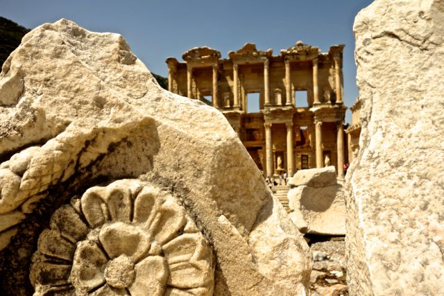 The amazing Celsus Library at Ephesus