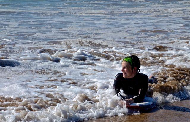 Surfboarding Mali