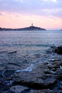 Rovinj from our campsite