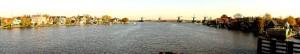 Panoramic vista of Zaanse Schans