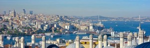 Galata District from Suleyman Mosque