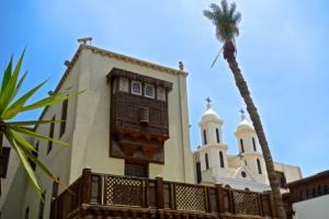 The Coptic Museum with the Hanging Church in the background