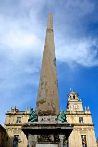 4th Century Roman obelisk in the Place de la Republique